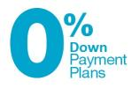 0% Down Payment Plan Coupon & Promo Codes