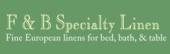 F & B Specialty Linen Coupon & Promo Codes